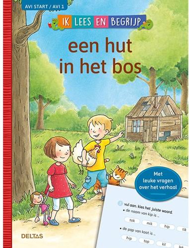 Deltas Ik lees en begrijp - Een hut in het bos (AVI START / AVI 1)