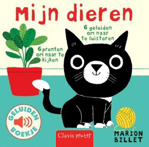 Clavis Geluidenboekje: Mijn dieren. 1+