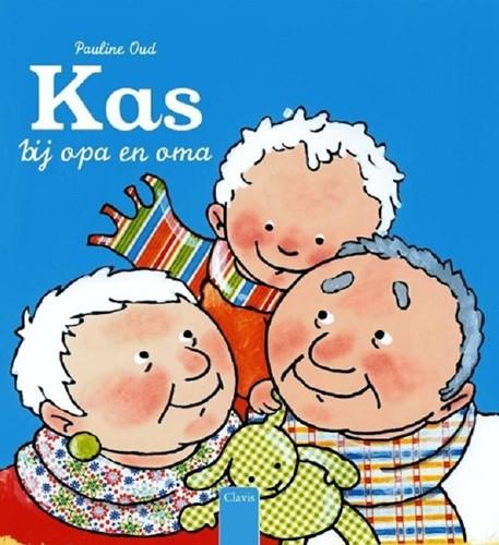Clavis Prentenboek - Kas bij oma en opa. 2+