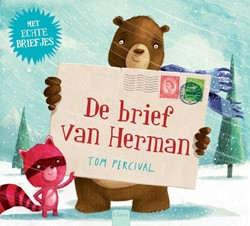 Kinderboek prentenboek de brief van Herman