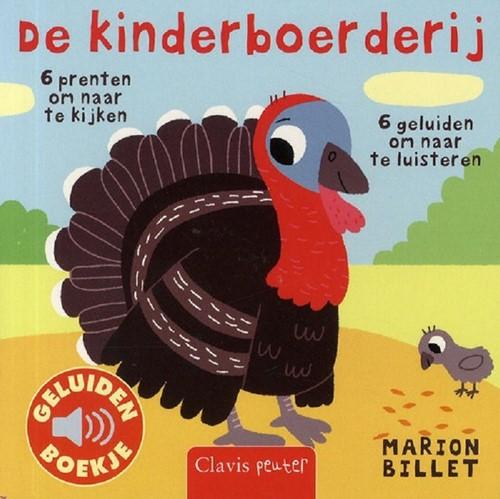 Geluidenboekje: De kinderboerderij. 1+