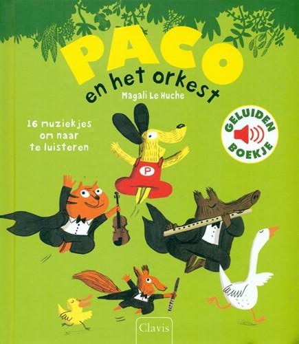 Clavis Paco en het orkest (geluidenboek). 3+