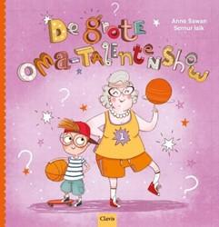 Kinderboeken  voorleesboek De grote oma talentenshow.