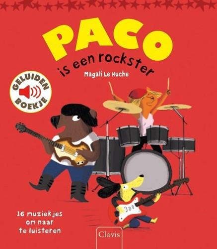Clavis Muziekinstrumenten - Paco is een rockster (geluidenboek). 3+