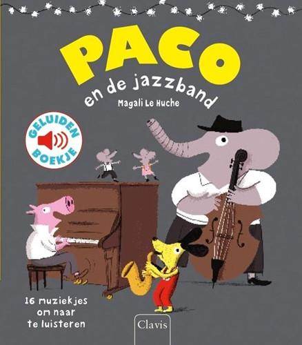 Clavis Paco en de jazzband (geluidenboek). 3+