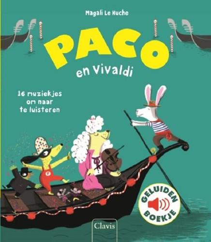 Clavis Muziekinstrumenten - Paco en Vivaldi (geluidenboek). 3+