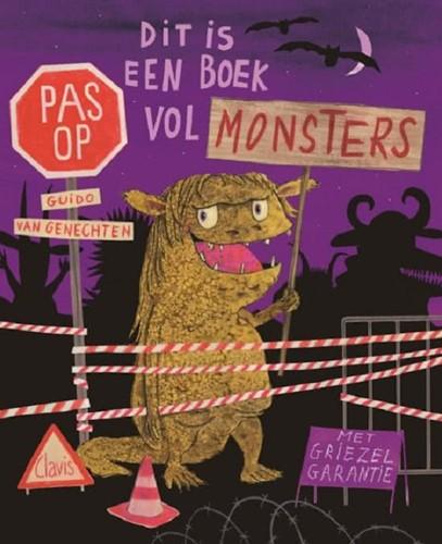 Kinderboeken voorleesboek Dit is een boek vol monsters