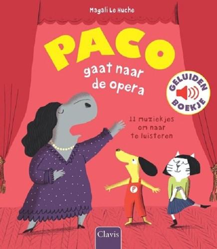 Clavis Muziekinstrumenten - Paco gaat naar de opera (geluidenboek). 3+