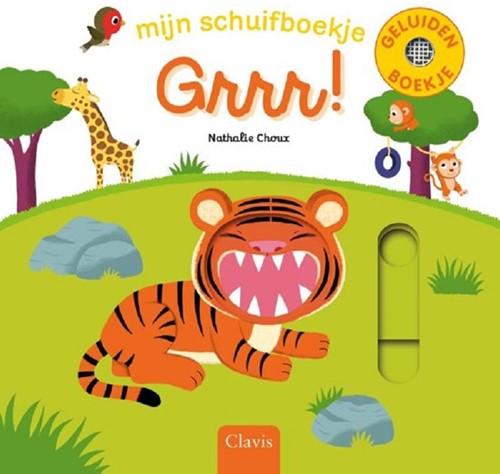 Clavis Mijn schuif-/geluidenboekjes. Grrr. 1+
