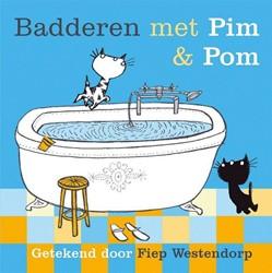 Kinderboeken  prentenboek Badderen met Pim en Pom