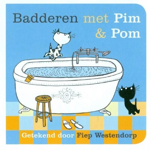 Querido badboekje Badderen met Pim en Pom. 1+