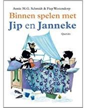 Kinderboeken  prentenboek Binnen spelen met Jip en Janne