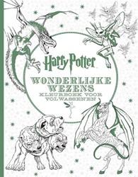 Planet Happy  kleurboek Harry Potter Wonderlijke wezens