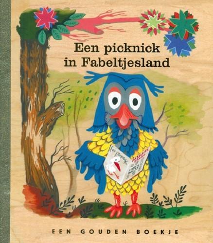 Rubinstein Fabeltjeskrant - Gouden boekje. Een picknick in Fabeltjesland. 3+