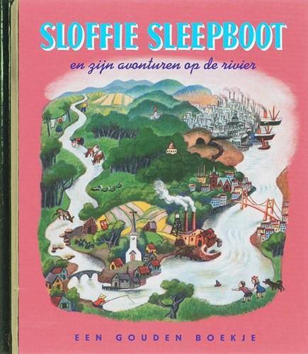 Rubinstein Gouden boekje - Een luxe Gouden boekje. Sloffie sleepboot (42 pag). 3+