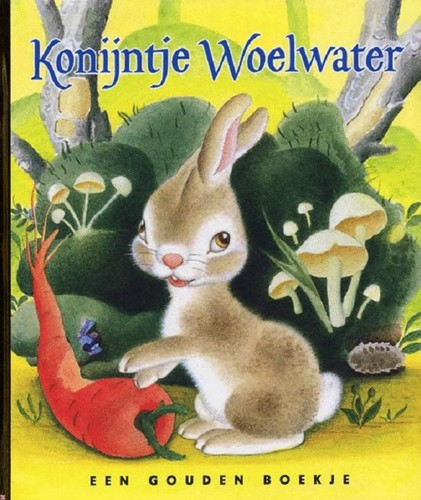 Gouden Boekje voorleesboek Konijntje Woelwater. 3+