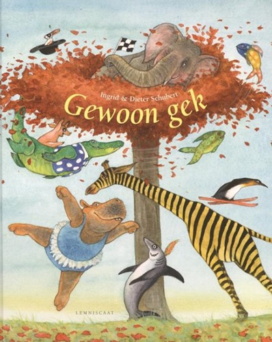 Lemniscaat prentenboek Gewoon Gek. 4+