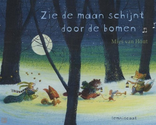 Kinderboeken voorleesboek Zie de maan schijnt (Karton +