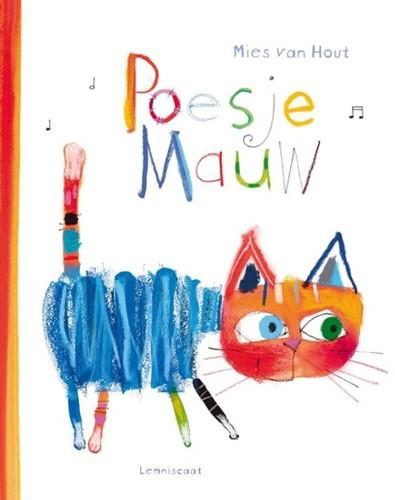 Lemniscaat Prentenboek - Poesje Mauw (+ cd). 2+
