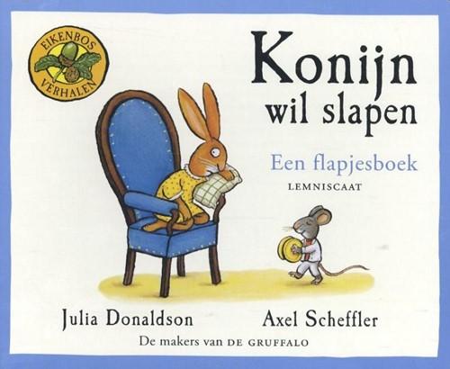 Lemniscaat Prentenboek - Konijn wil slapen (kartonboek met flapjes). 2+