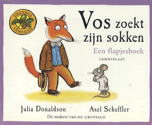 Vos zoekt zijn sokken (kartonboek met fl