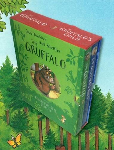 De Gruffalo en kind van de Gruffalo (cas