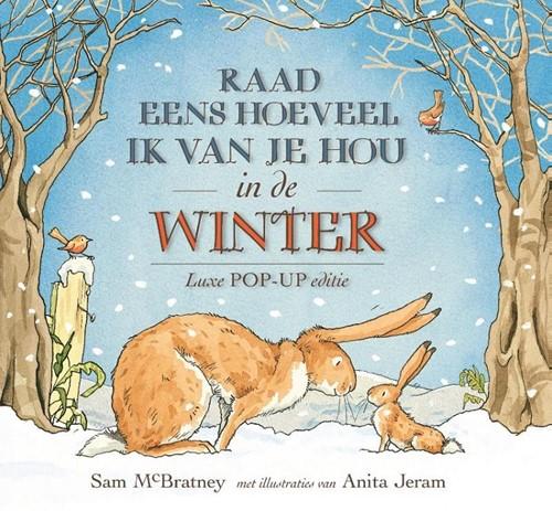 Lemniscaat prentenboek Raad eens hoeveel: in de winter. 2+