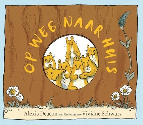 Kinderboeken  voorleesboek op weg Naar huis