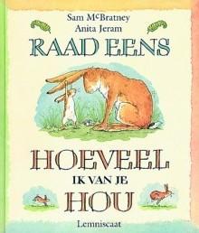 Kinderboeken  prentenboek Raad eens hoeveel ik van je hou Mini editie