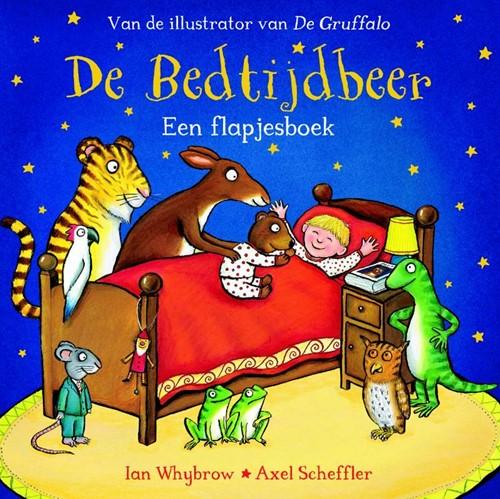 De bedtijdbeer (kartonboek met flapjes)