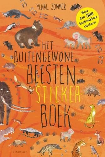 Kinderboeken stickers het buitengewone beesten stickerboek