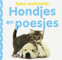 babyboek Voelboekje Hondjes en Poesjes-1