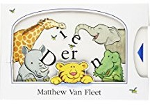 Kinderboeken  babyboek Kijk en voelboek: Dieren.