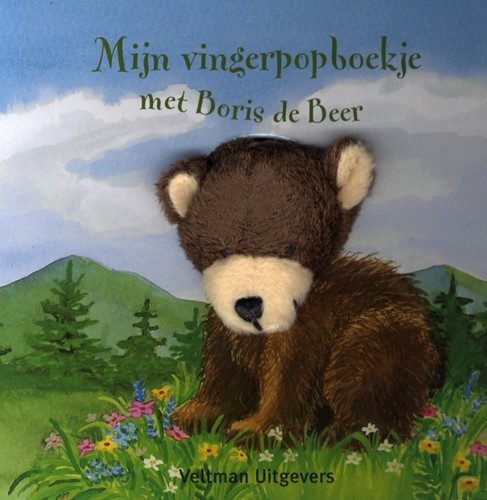Kinderboeken  voorleesboek Mijn vingerpopboekje met Boris de Beer