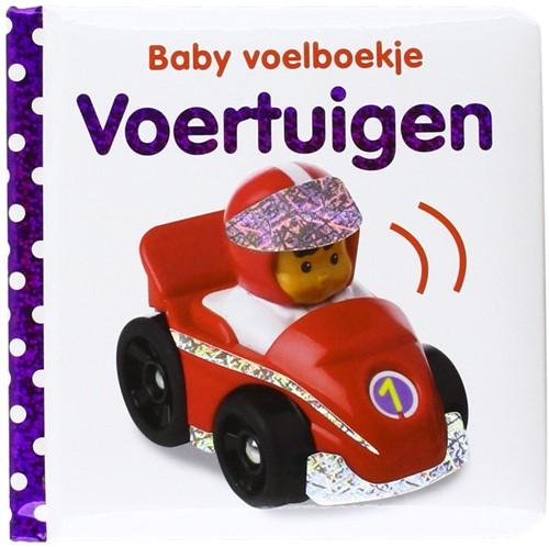 Veltman baby voelboekje Voertuigen. 0+