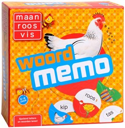 Zwijsen  kinderspel Maan Roos Vis - Woord memory