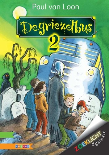 Zwijsen Zoeklicht dyslexie toptitels - De griezelbus 2