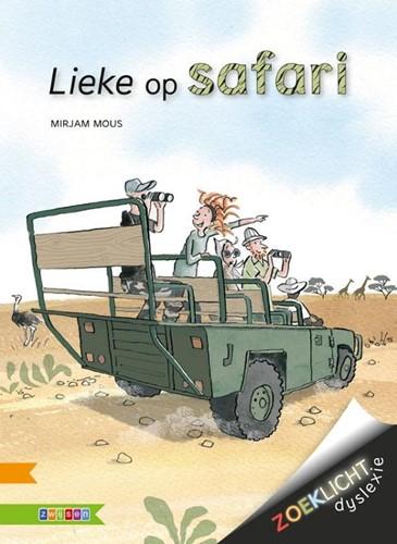 Zwijsen Zoeklicht dyslexie - Lieke op safari