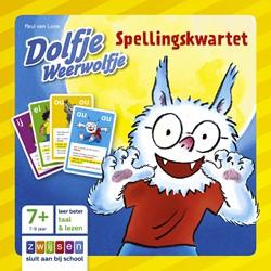 Zwijsen  kwartet Dolfje Weerwolfje Spellingskwartet