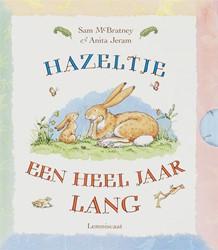 Kinderboeken  prentenboek Raad eens hoeveel ik van je hou - Een heel jaar lang