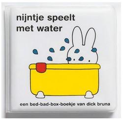 Nijntje  babyboek Badboekje Nijntje speelt in het water