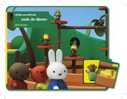 Nijntje  babyboek Puzzel zoek de dieren