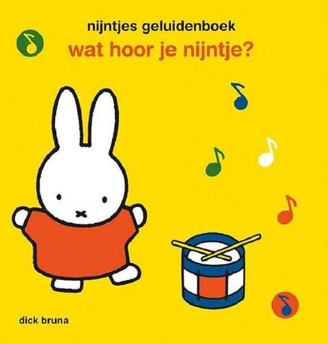 Mercis Nijntje - Wat hoor je nijntje (geluidenboek). 2+