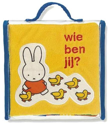 Mercis Nijntje - Nijntje Wie ben jij (stoffen labelboekje). 1+