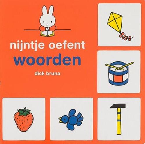 Mercis Nijntje - Nijntje oefent woorden (kartonboek). 2+