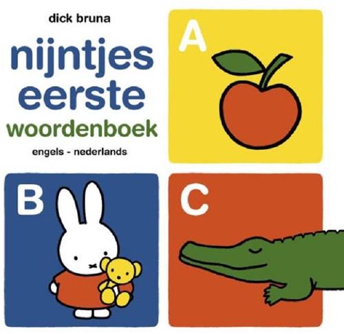 Mercis Nijntje - Nijntjes eerste woordenboek (Engels-Nederland). 1+