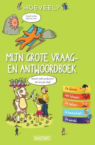 Kinderboeken educatieboek hoeveel? mijn grote vraag en antwoordboek