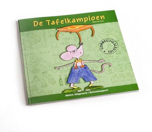Kinderboeken  educatieboek De tafelkampioen