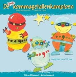 Kinderboeken  educatieboek De superkommagetallenkampioen