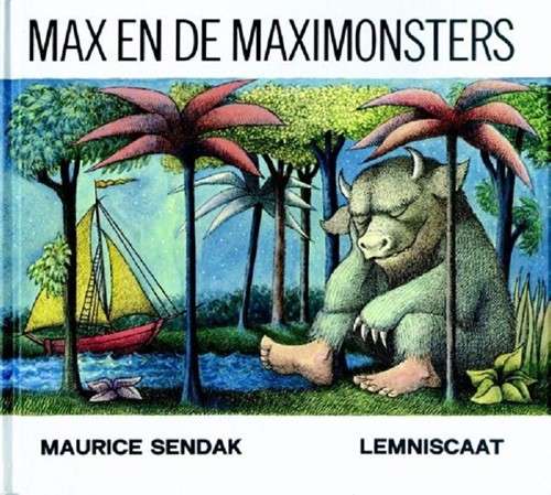 Lemniscaat prentenboek Max en de Maximonsters. 5+